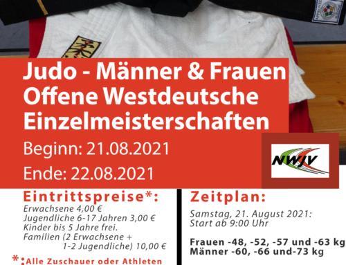 Westdeutsche Einzelmeisterschaften der Männer und Frauen in Lippetal