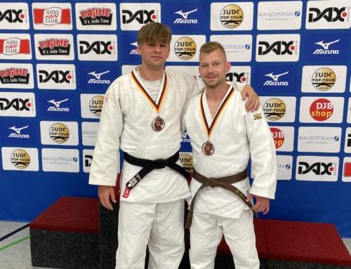Nationale Titelkämpfe im hessischen Bad Homburg – 2 Mal Bronze für Lippetaler Judoka